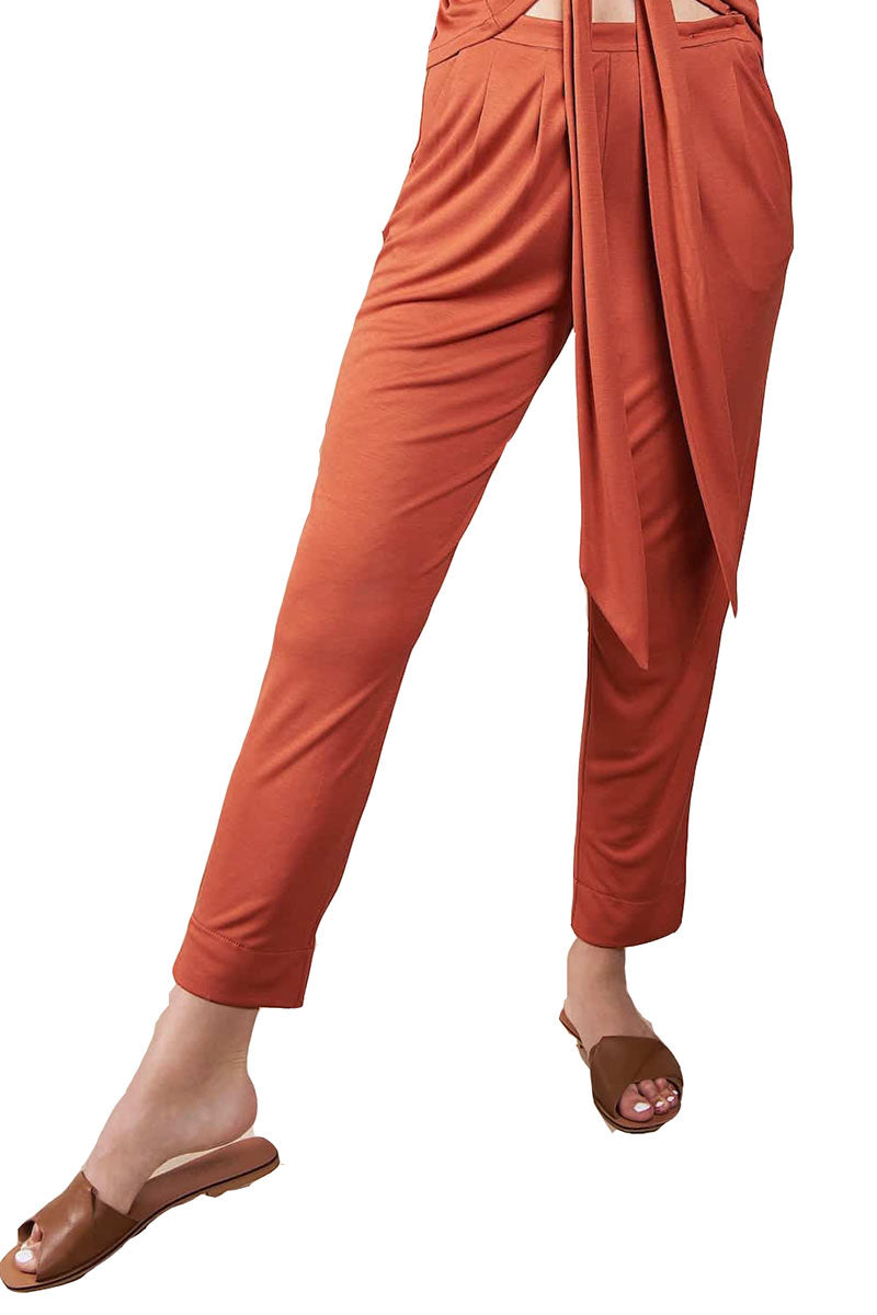 Arabis Trousers - Rust 1