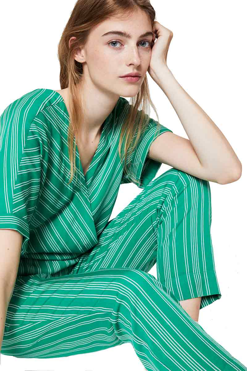 ArmedAngels Aarabella Pair of Stripes jumpsuit | Sophie Stone