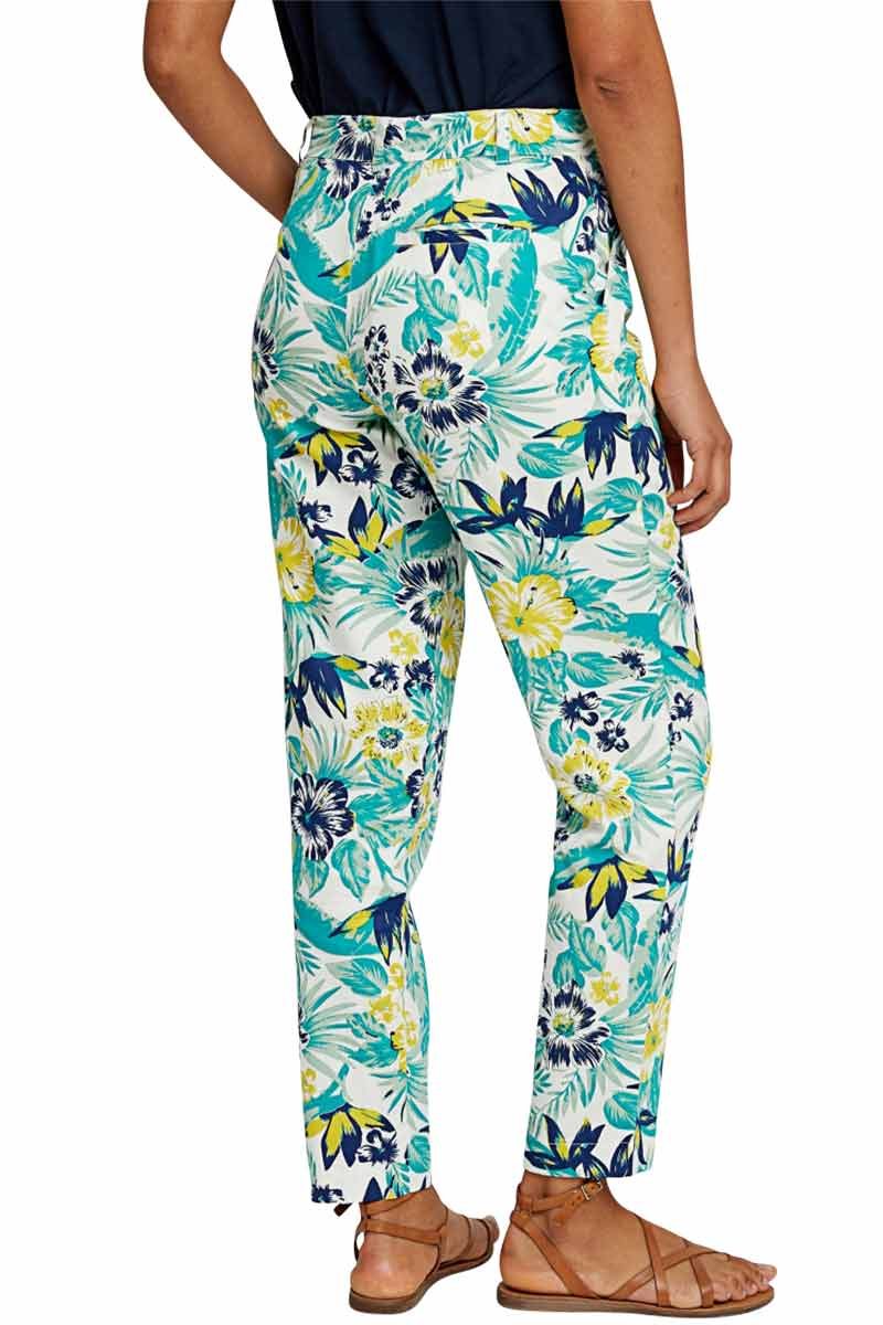 People Tree Candice Tropical pants | Sophie Stone
