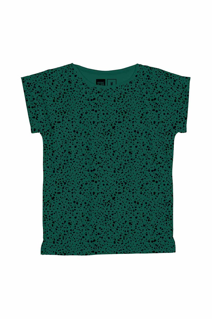 Dedicated Dots green shirt | Sophie Stone