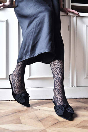 Swedish Stockings Edith Lace tights | Sophie Stone