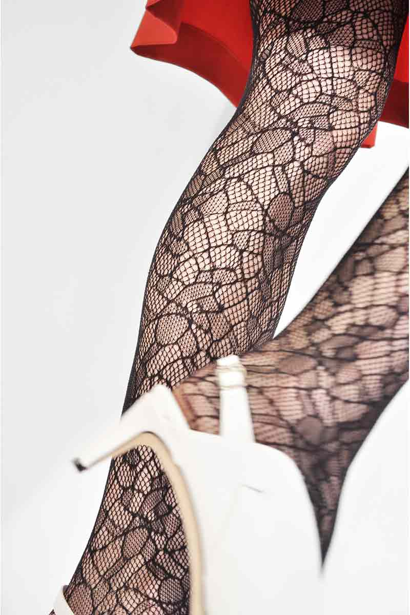 Swedish Stockings Edith Lace panty zwart | Sophie Stone