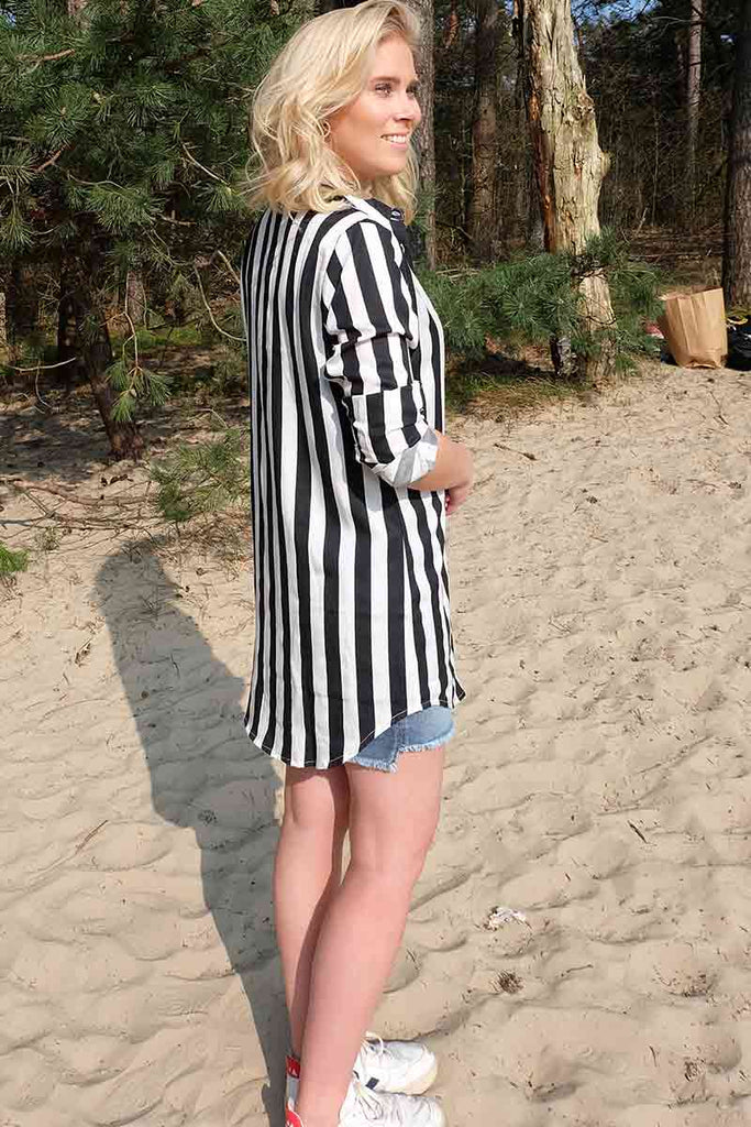 Dedicated Fredericia Big Stripes blousedress | Sophie Stone