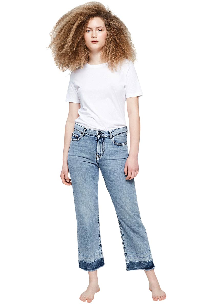ArmedAngels Galinaa Frayed jeans stone washed | Sophie Stone