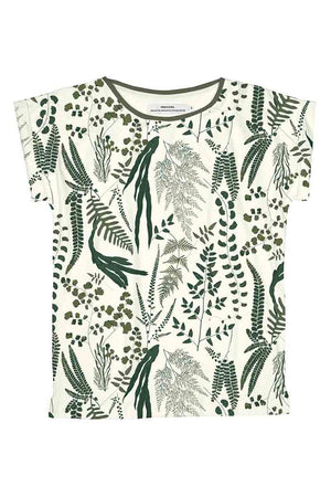 Dedicated Visby Garden t-shirt leaves | Sophie Stone