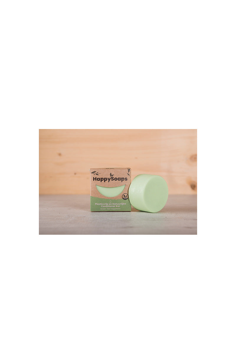 HappySoaps Green Tea Happiness conditioner zeep | Sophie Stone