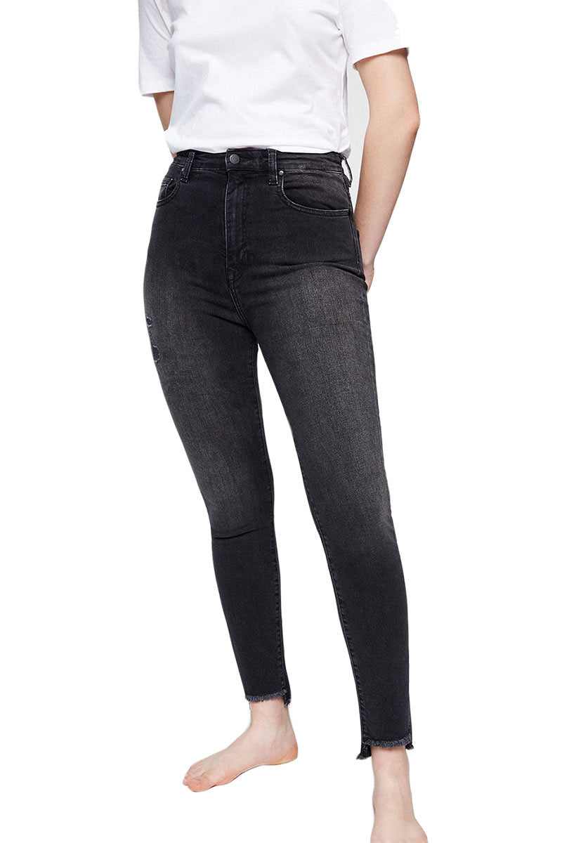 ArmedAngels Inga Frayed high waist jeans | Sophie Stone