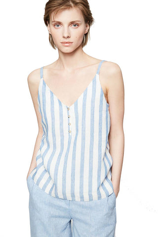 Ilaa block stripe top