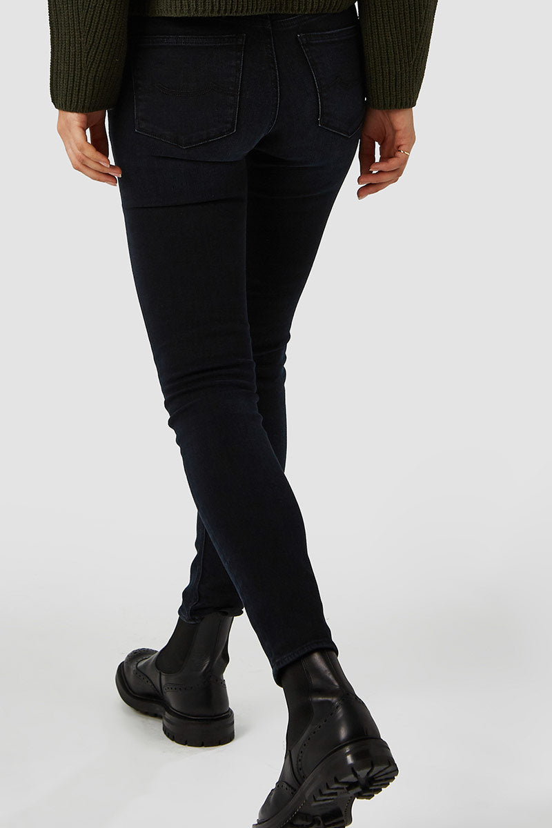 Kings of Indigo Juno high blue black jeans | Sophie Stone