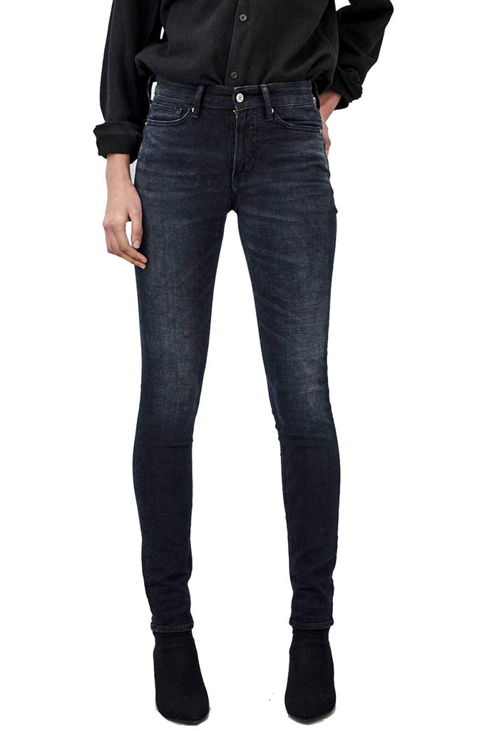 Kings of Indigo Juno high deep black jeans | Sophie Stone