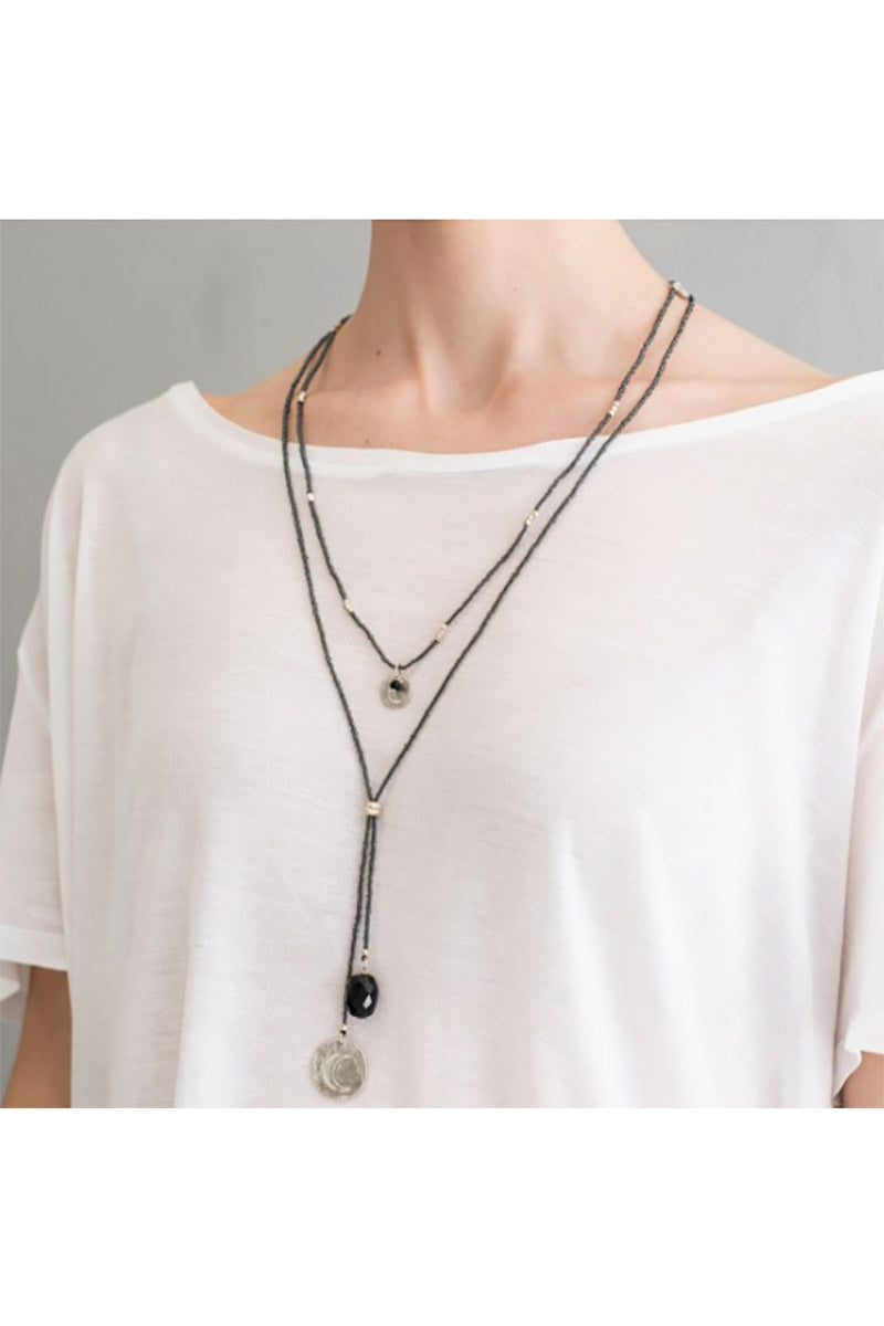 A Beautiful Story Joy Smokey Quartz silver ketting | Sophie Stone