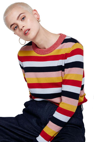 Oxana multi stripes