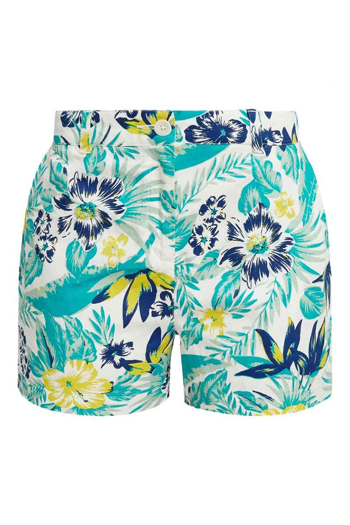 People Tree Rhea Tropical shorts bio katoen | Sophie Stone