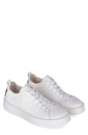 Eliot knit sneaker woman wit | Sophie Stone