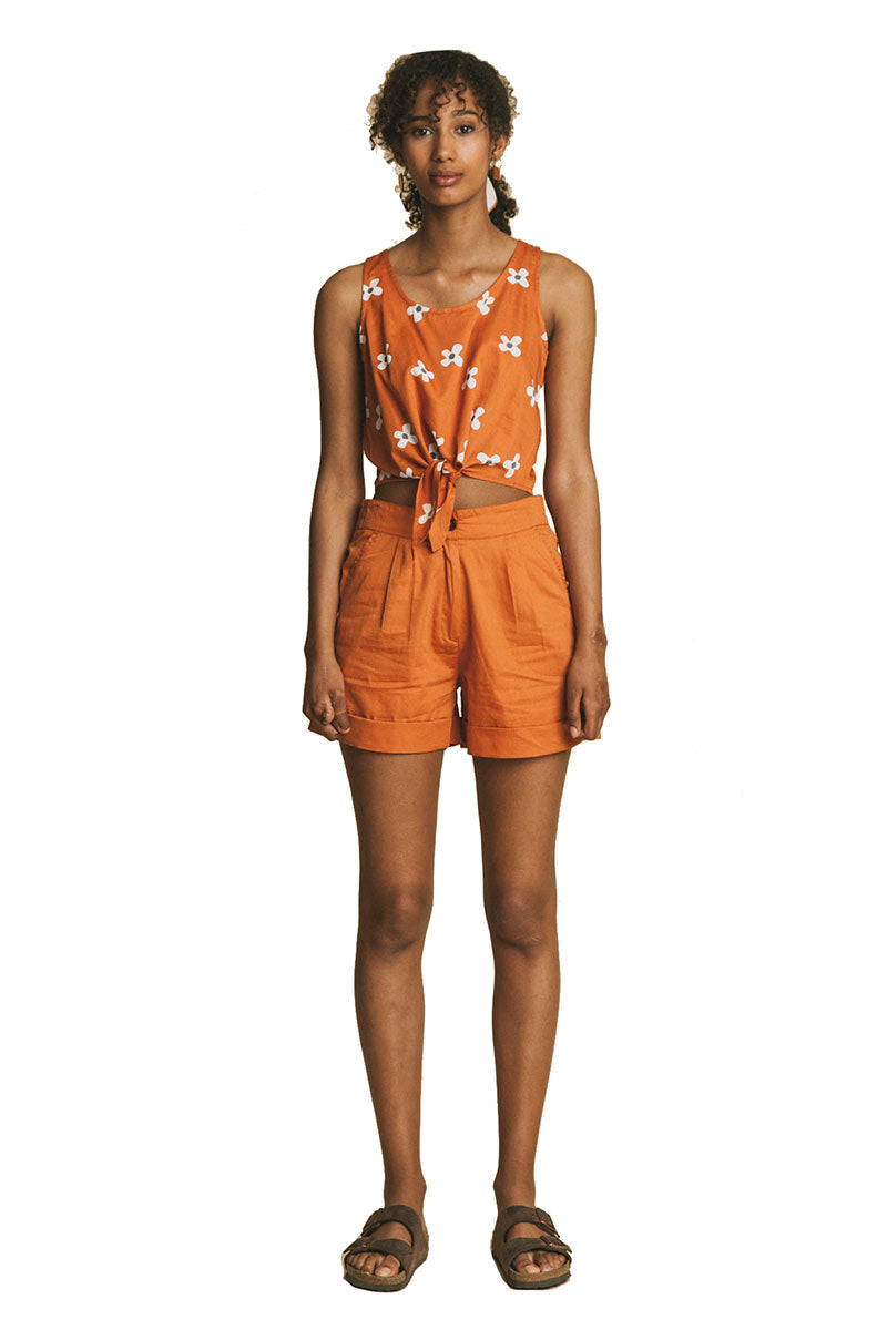 Thinking MU Terracotta shorts | Sophie Stone