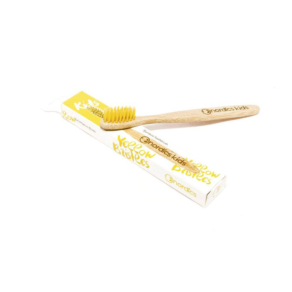 Nordics Kids Brush Yellow | Sophie Stone
