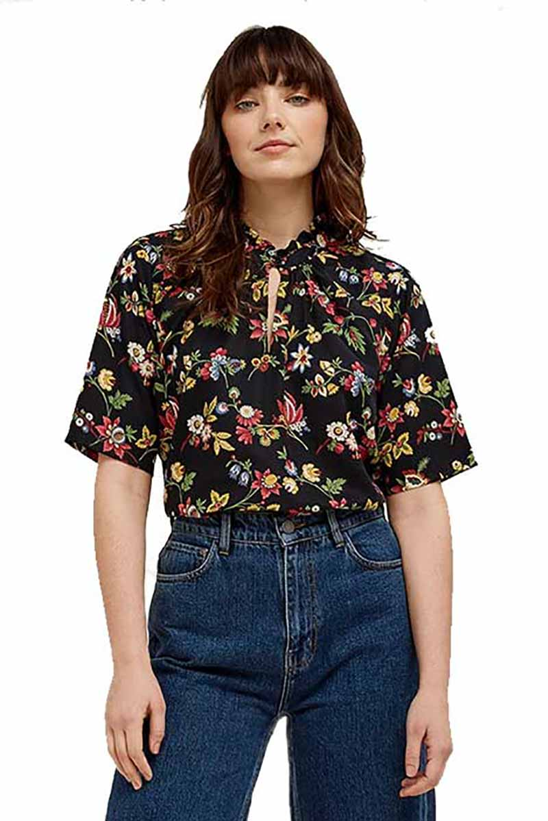 People Tree V&A Jardin Print Top | Sophie Stone