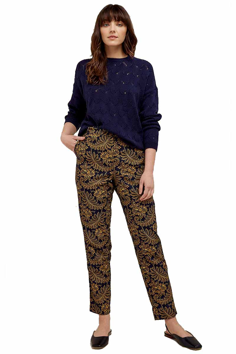 People Tree V&A Rosa Print broek | Sophie Stone