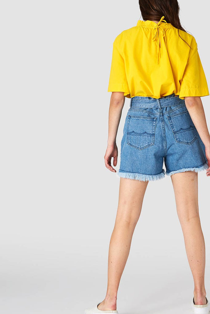 Alice belted shorts