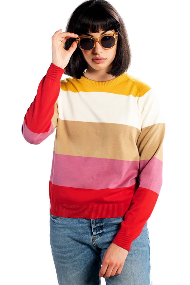 Dedicated Sweater Arendal Bold Stripe | Sophie Stone