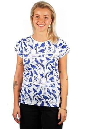 Dedicated shirt Visby Blue Birds | Sophie Stone