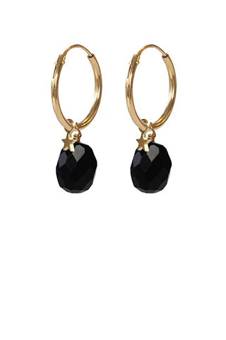 Black Onyx star gold