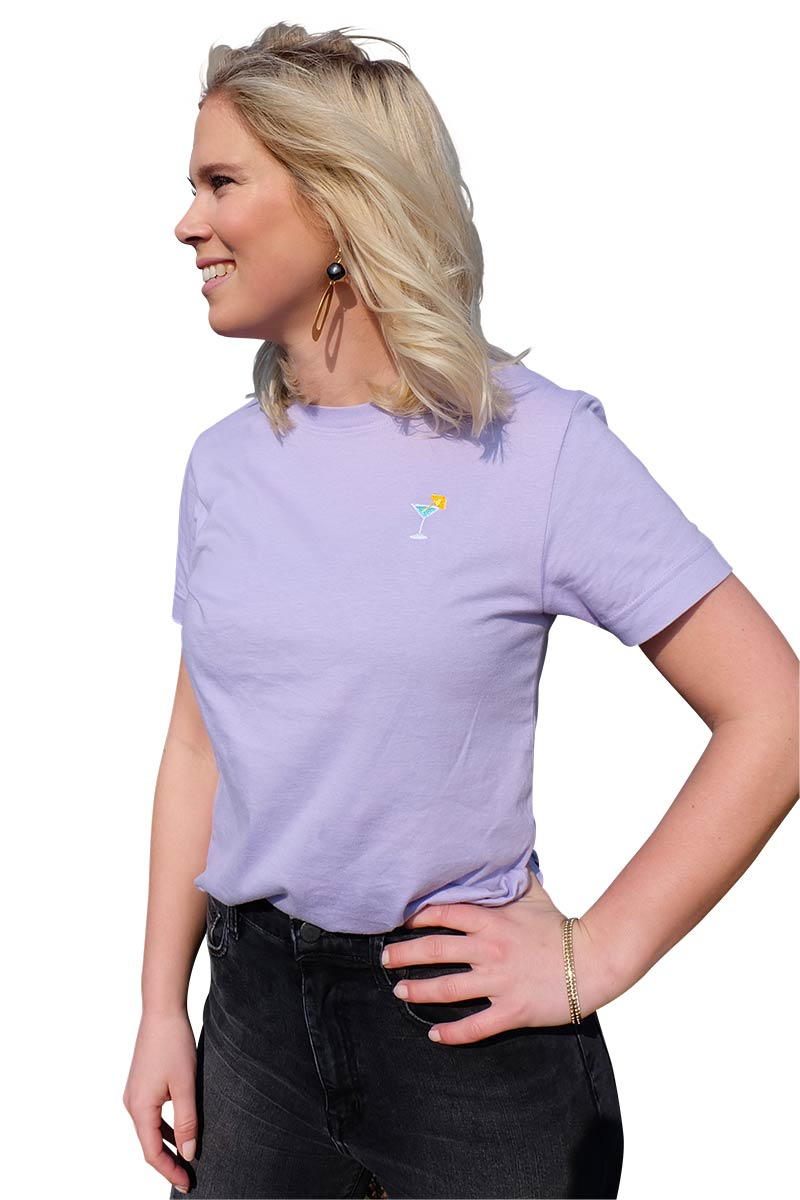 Dedicated Mysen Cocktail shirt purple | Sophie Stone