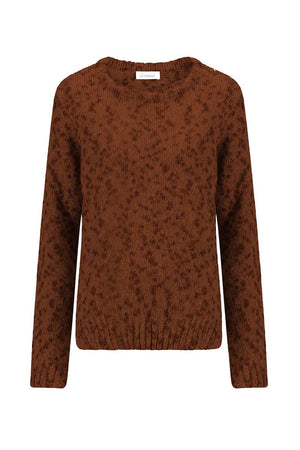 Alchemist Dot Knit sweater brown | Sophie Stone