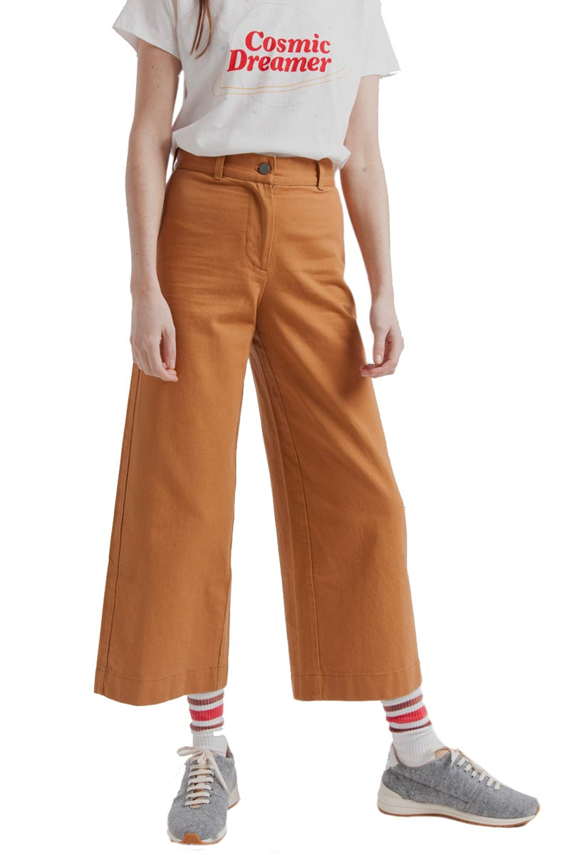 ThinkingMU Sugar Brown Elephant pants | Sophie Stone