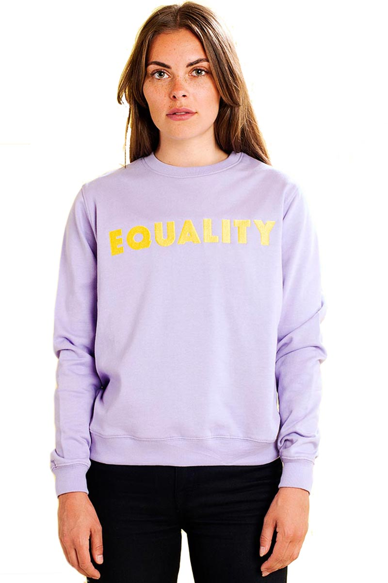 Dedicated Ystad Equality sweatshirt | Sophie Stone
