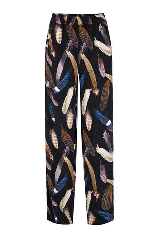Feather pants