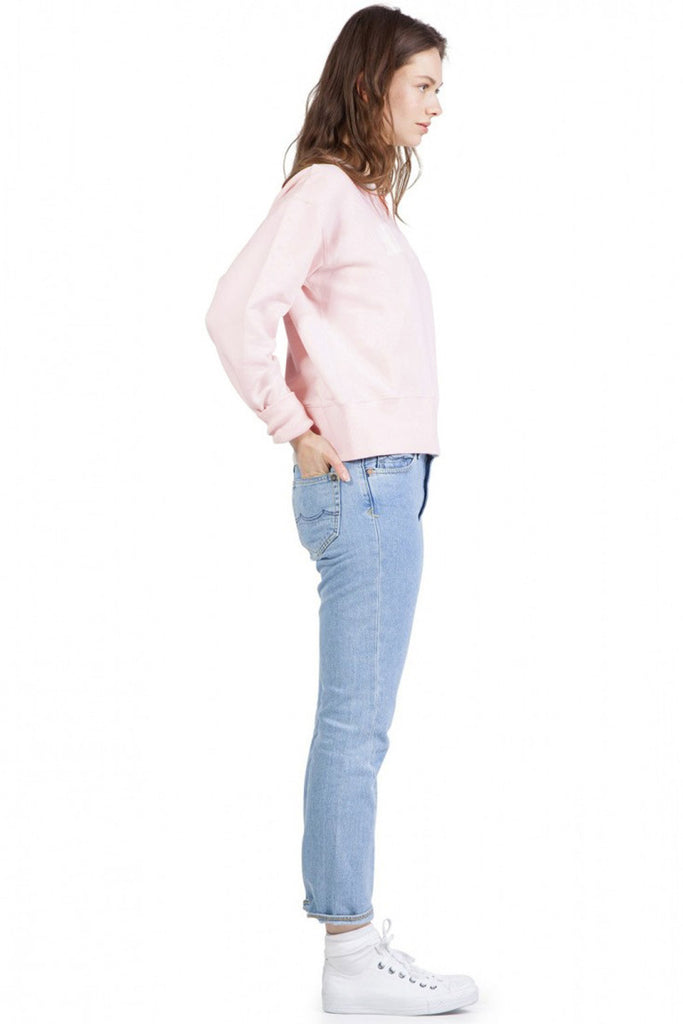 Kings of Indigo Hemma sweatshirt roze | Sophie Stone