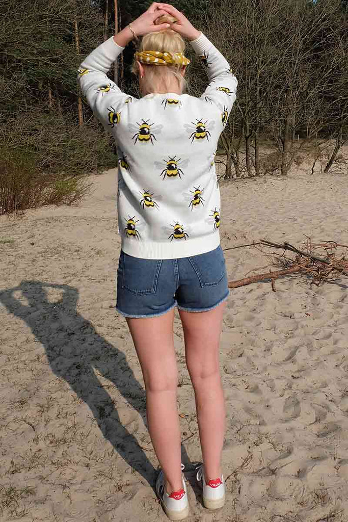 Dedicated Sweater Arendal Bumblebee | Sophie Stone