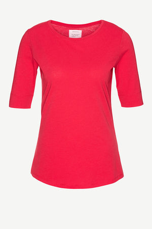 ArmedAngels Janna shirt rood | Sophie Stone