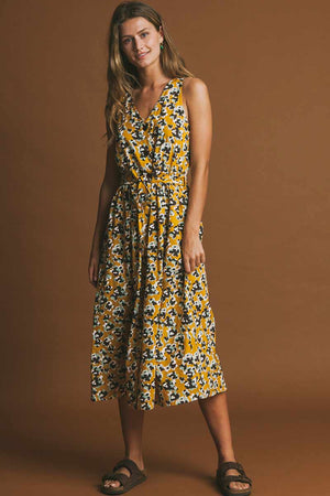 Thinking MU Abstract Flowers Jolie dress | Sophie Stone