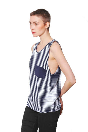 Yunit Jule Striped top | Sophie Stone