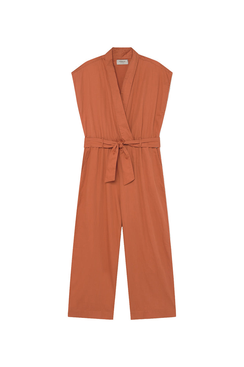 Thinking MU Terracotta jumpsuit | Sophie Stone