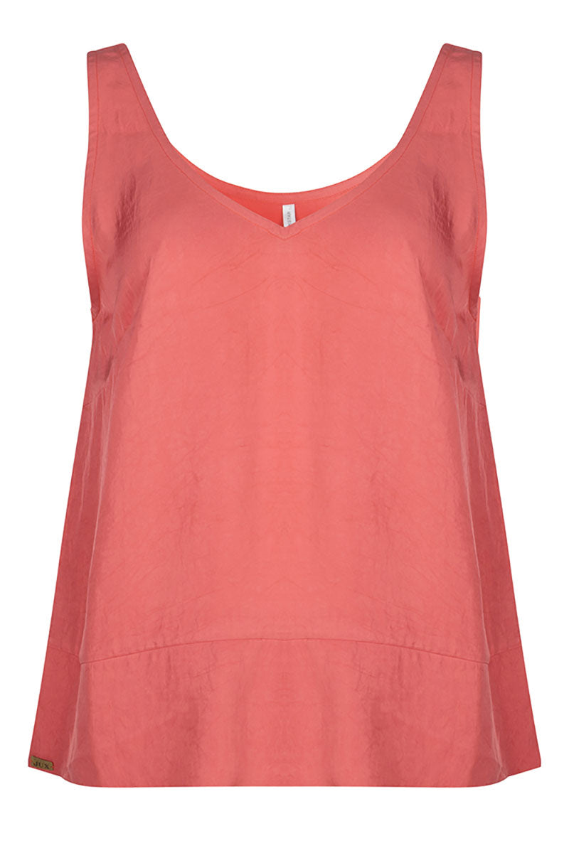 Op FairFrog: Vegan Silk Top