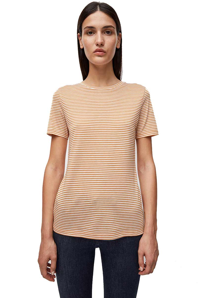 Lidaa Ring Stripes caramel | Sophie Stone