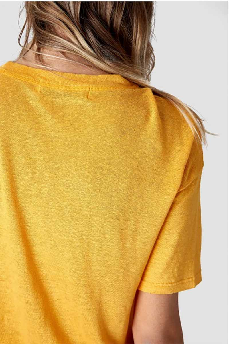 Kings of Indigo Majaji shirt Sunflower yellow | Sophie Stone