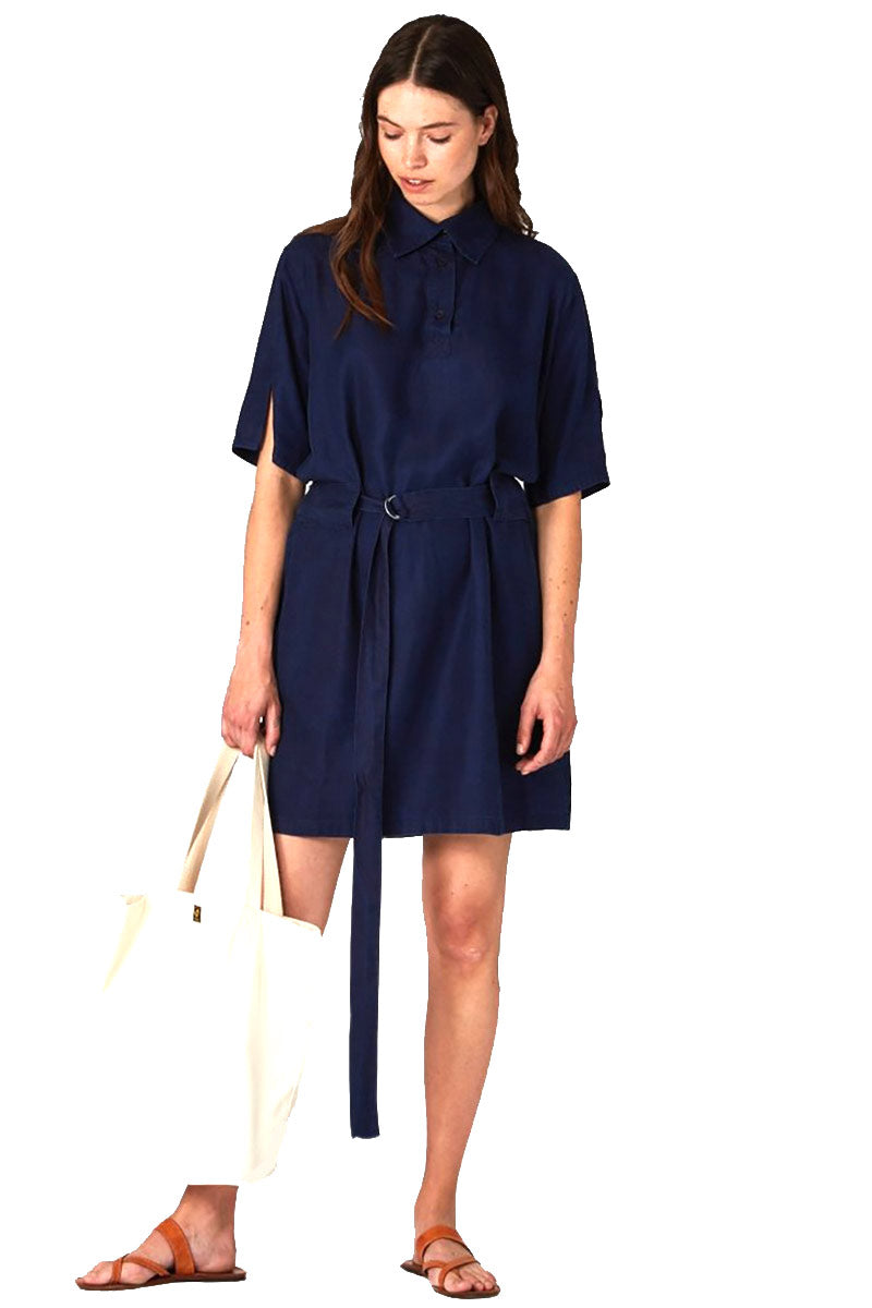Kings of Indigo Marguerite Tencel dress | Sophie Stone