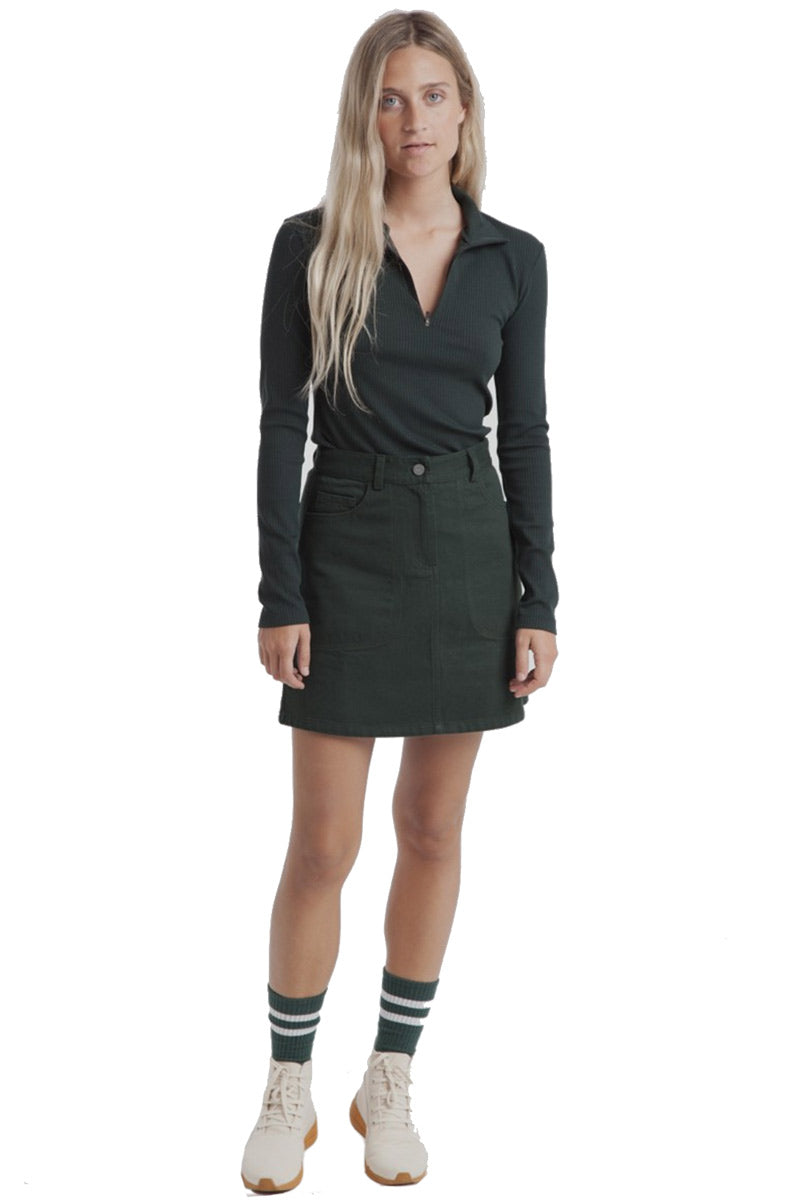 Thinking MU Marsha Short Skirt green | Sophie Stone