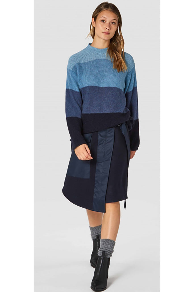 Kings of Indigo May Stripe Navy | Sophie Stone