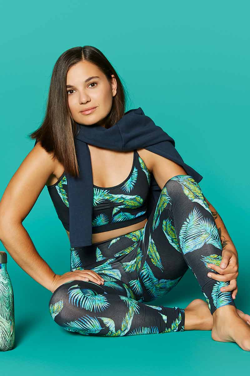 Jungle yoga top