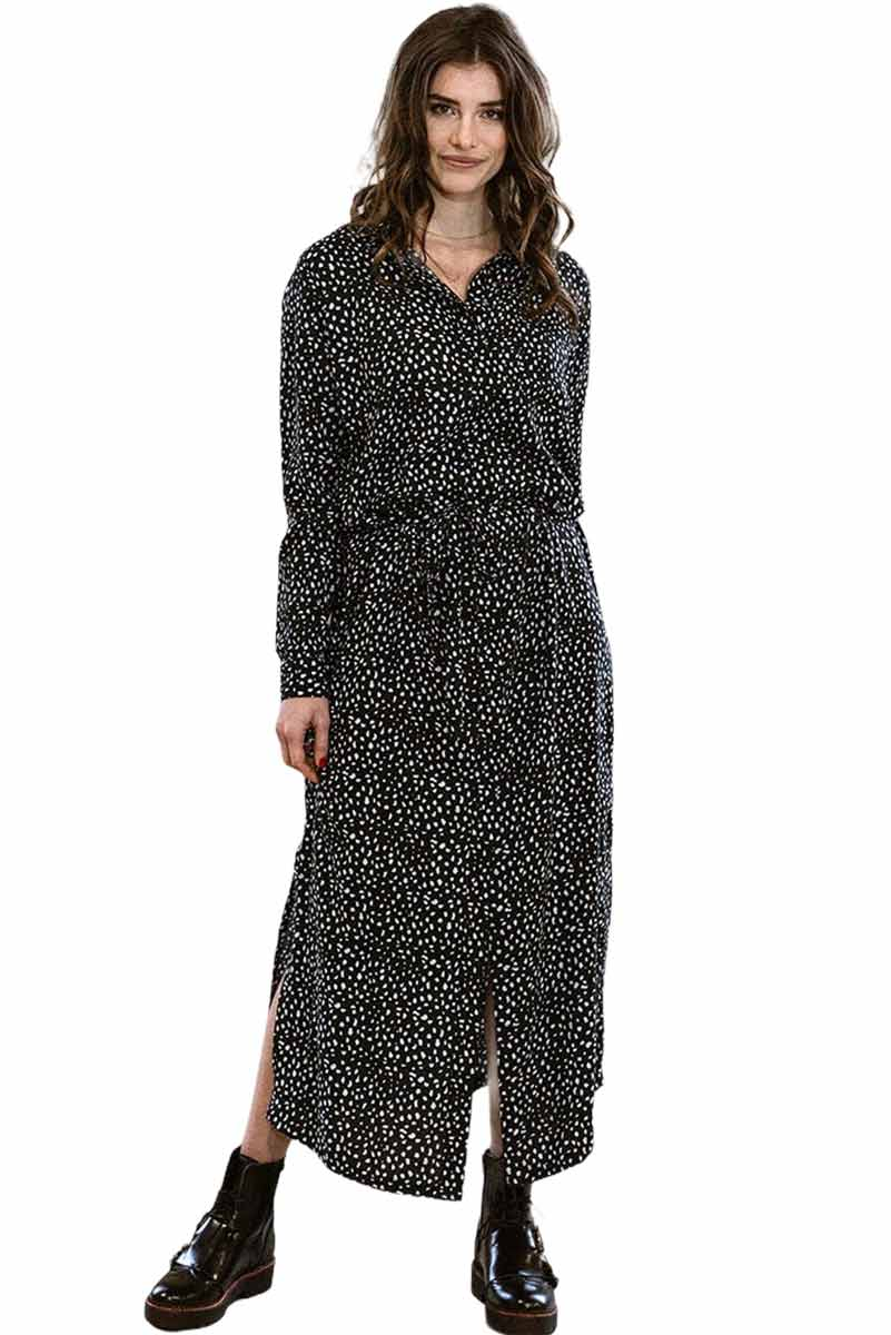 J-LAB3L maxi dress Nalini animal dot | Sophie Stone