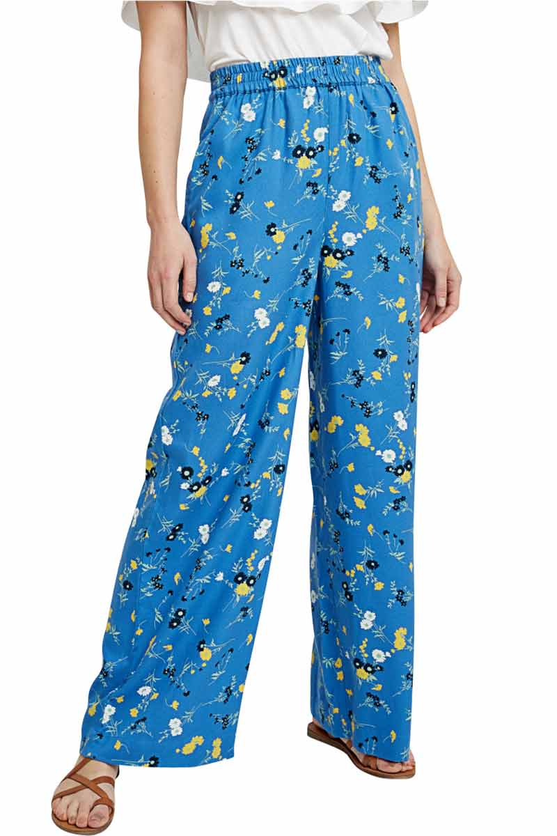 People Tree Paige Floral pants | Sophie Stone