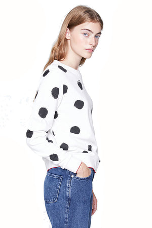 Philomena Big Spots sweater | Sophie Stone