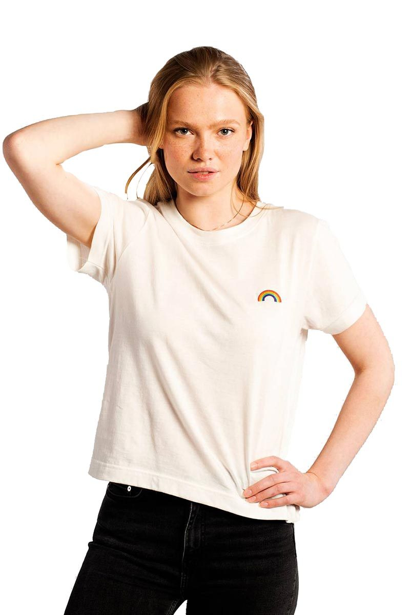 Dedicated Mysen Rainbow t-shirt | Sophie Stone