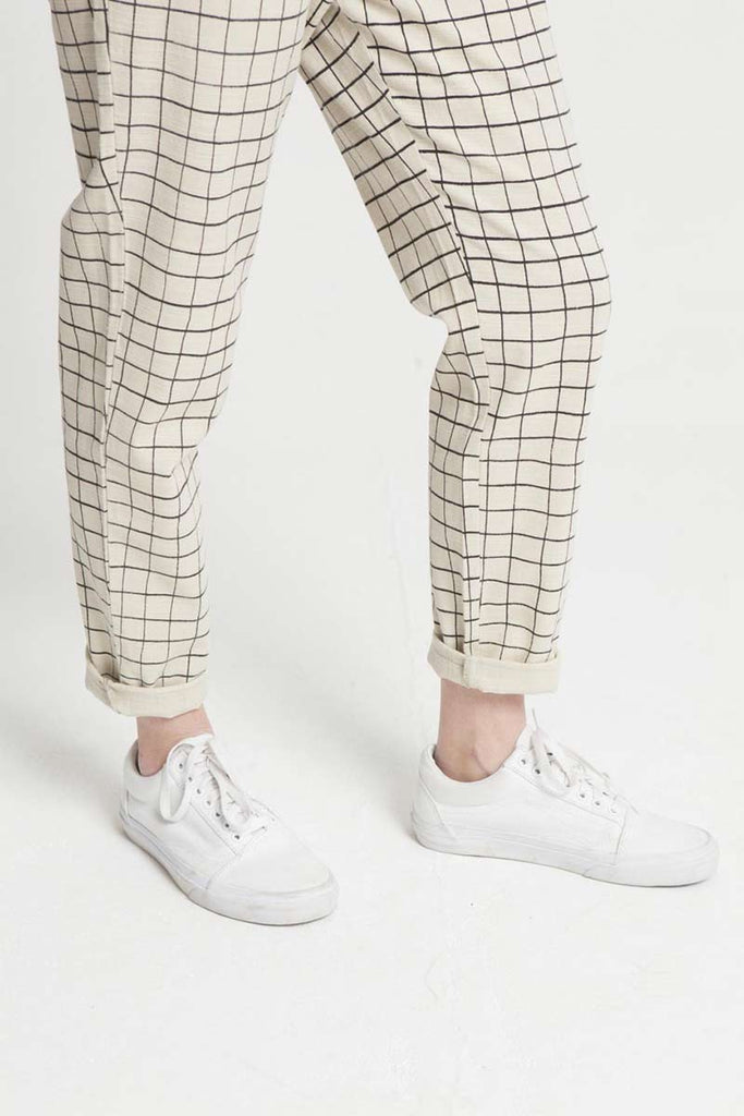 Thinking MU Square Belt Pants | Sophie Stone