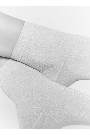Swedish Stockings Stella roze glittersokje | Sophie Stone